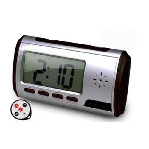 85808 High Resolution 640 * 480 Motion Detection Alarm Clock DVR Video Recorder