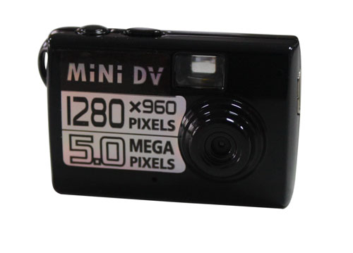 85988 Match Box Style HD Digital Video Camera with Motion Trigger Feature