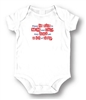 L.A. Imprints Unisex Baby Attitude Romper - Please Be Nice