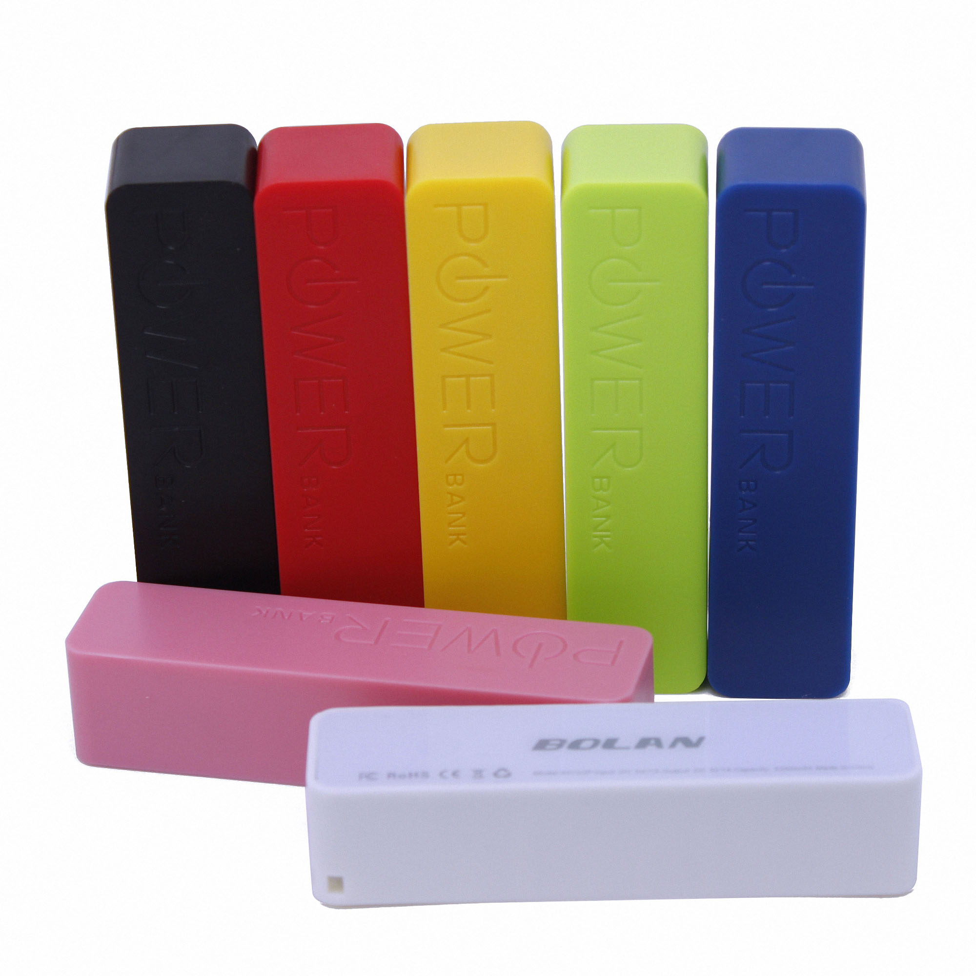 Bolan 2200mAh Portable External Battery Charger for Smartphones and other Digital Devices