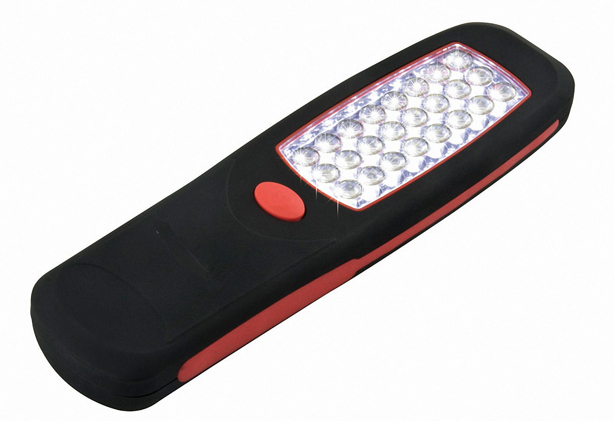 24 LED Super Bright Worklight Flashlight with Built-In Hook Hanger and Magnet