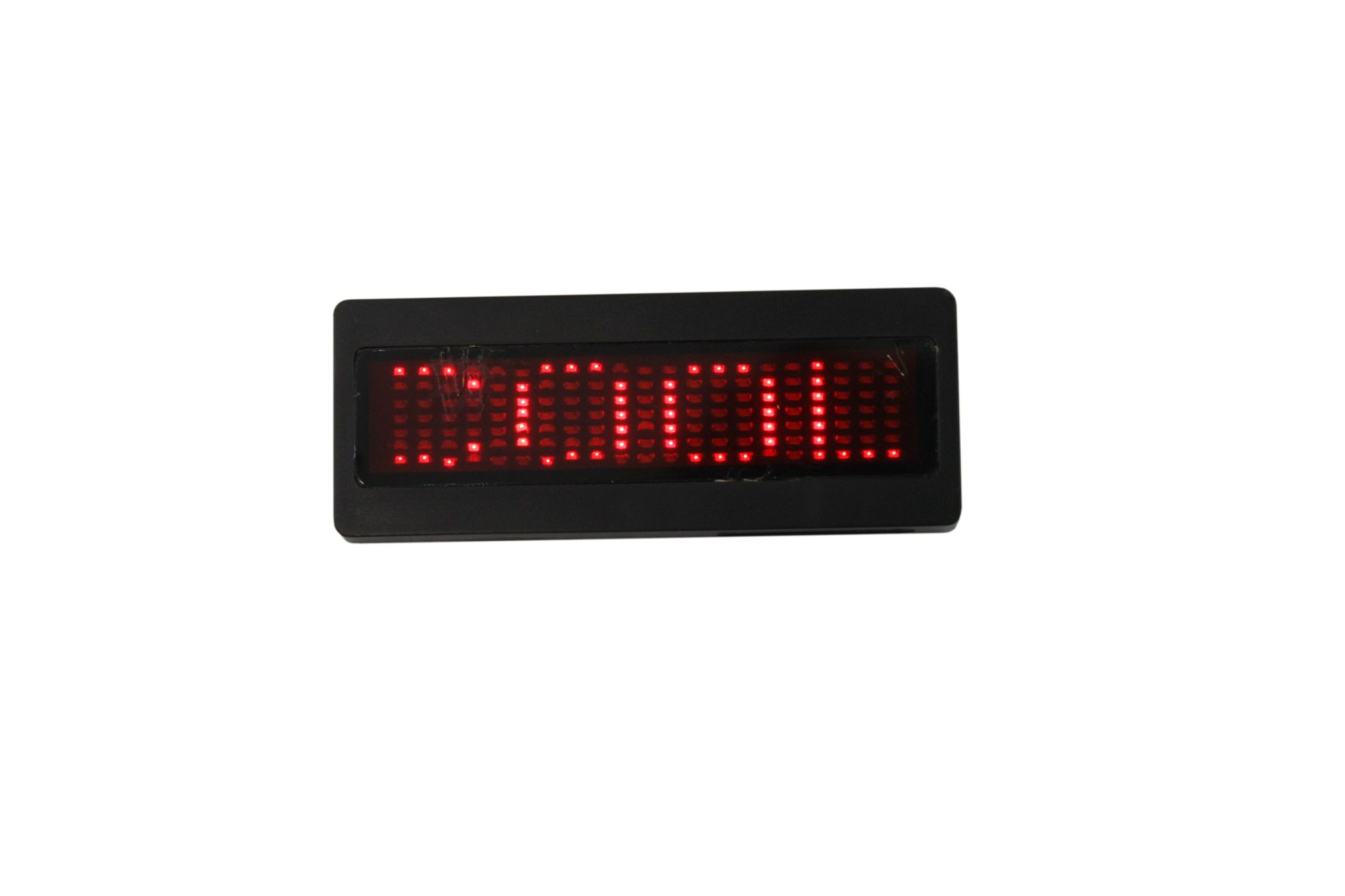 Bolan Programmable Scrolling Red LED Name Tag, Reusable Name Badge, PriceTag rechargeable ID Tag office magnetic name tags,Digital Sign