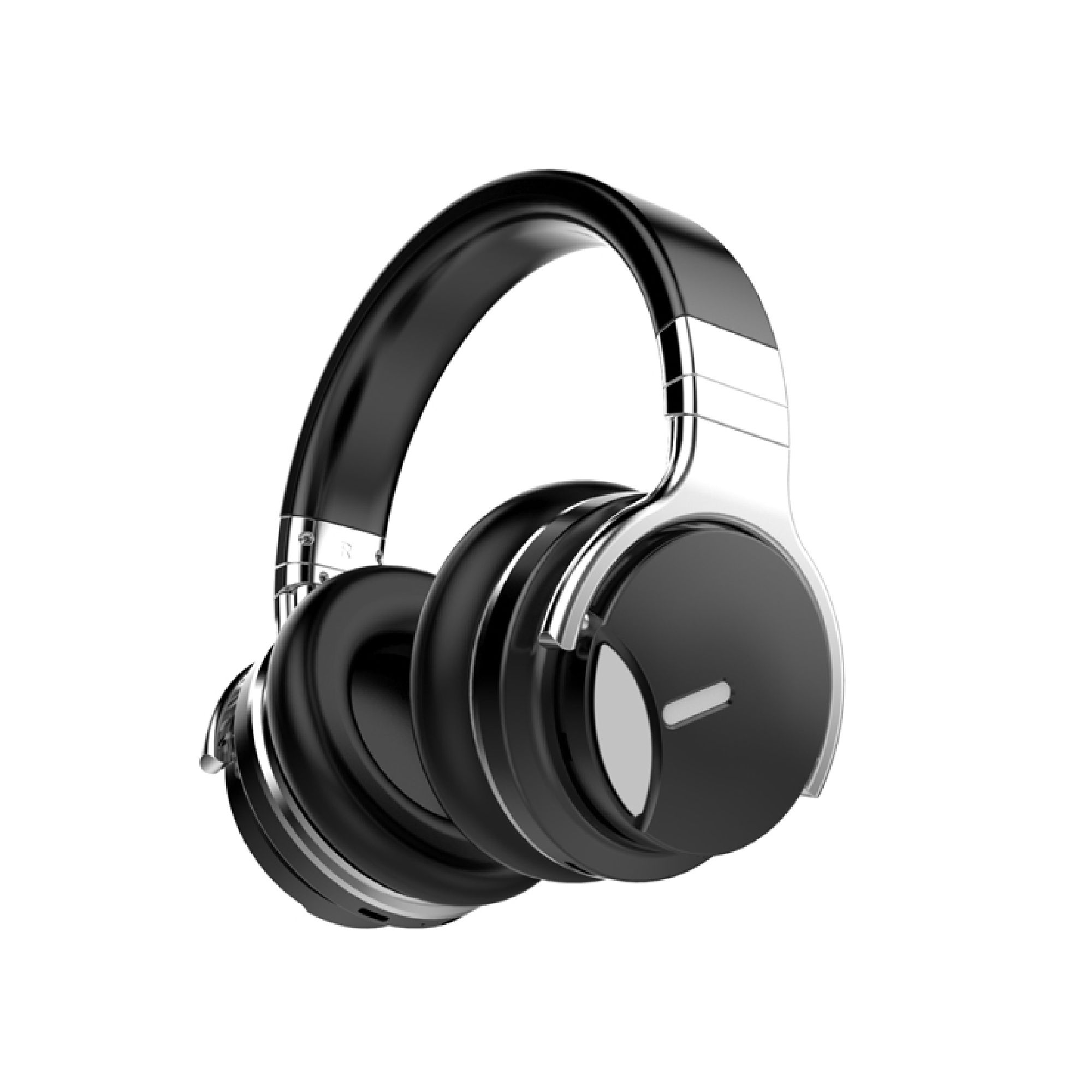 COWIN E7 MD Active Noise Cancelling Bluetooth Headphones with Microphone Deep Bass Wireless Headphones Over Ear, Comfortable Protein Earpads, 30H Playtime for Travel Work TV Computer IPhone