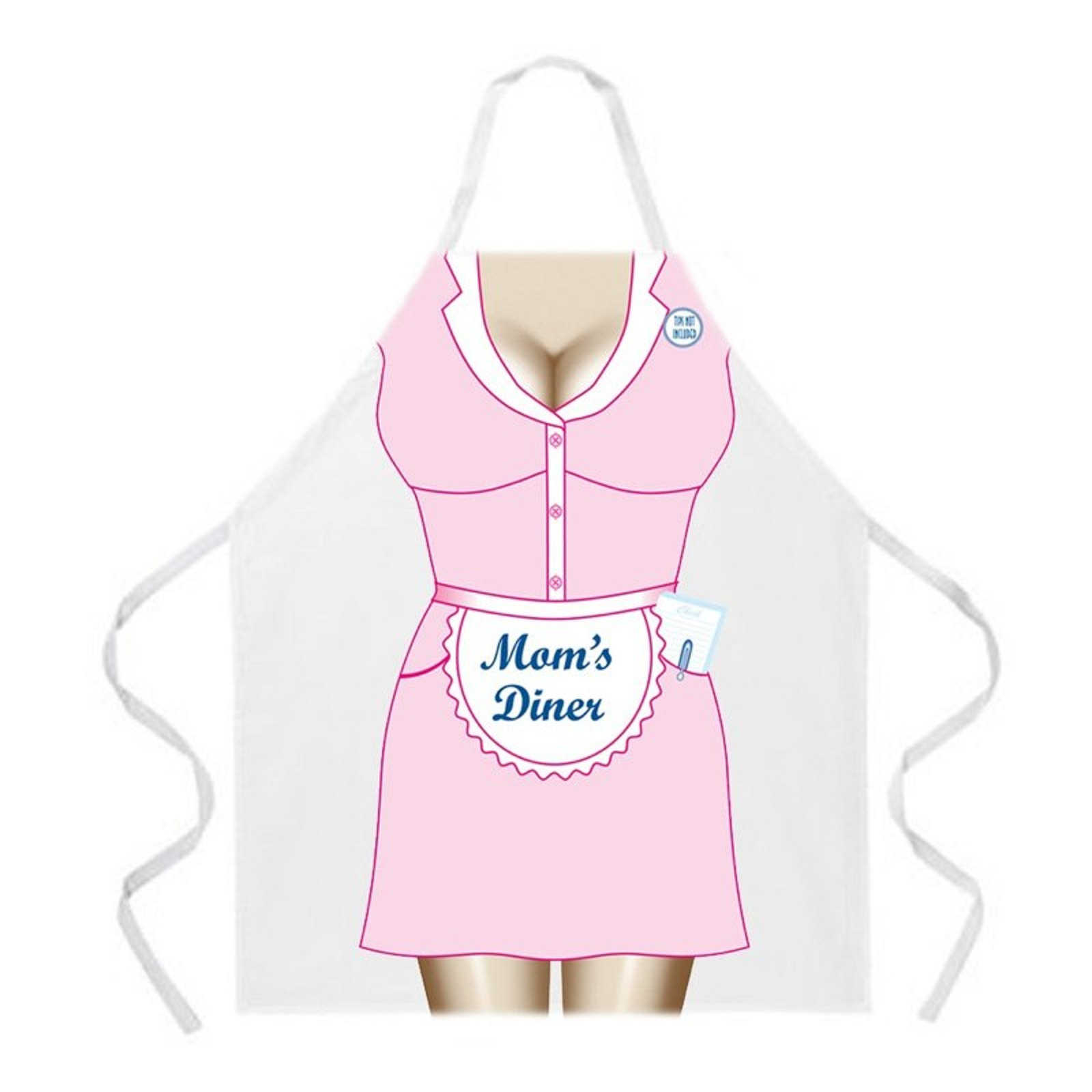 L.A. Imprints Attitude Apron Mom's Diner Apron One Size Fits Most Style LI2034 at Sears.com