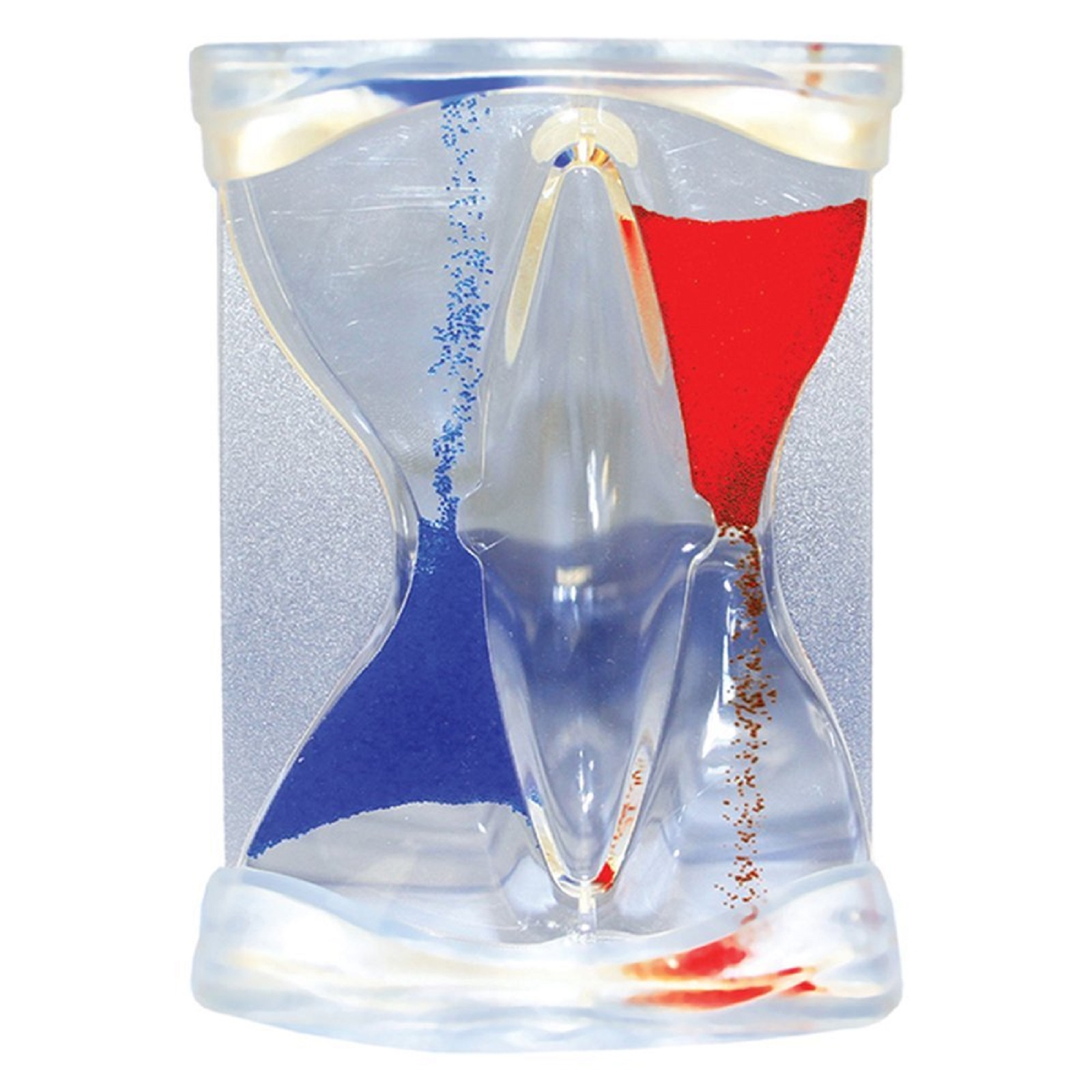 Natico Originals Inverse Flow Blue and Red Liquid Timer